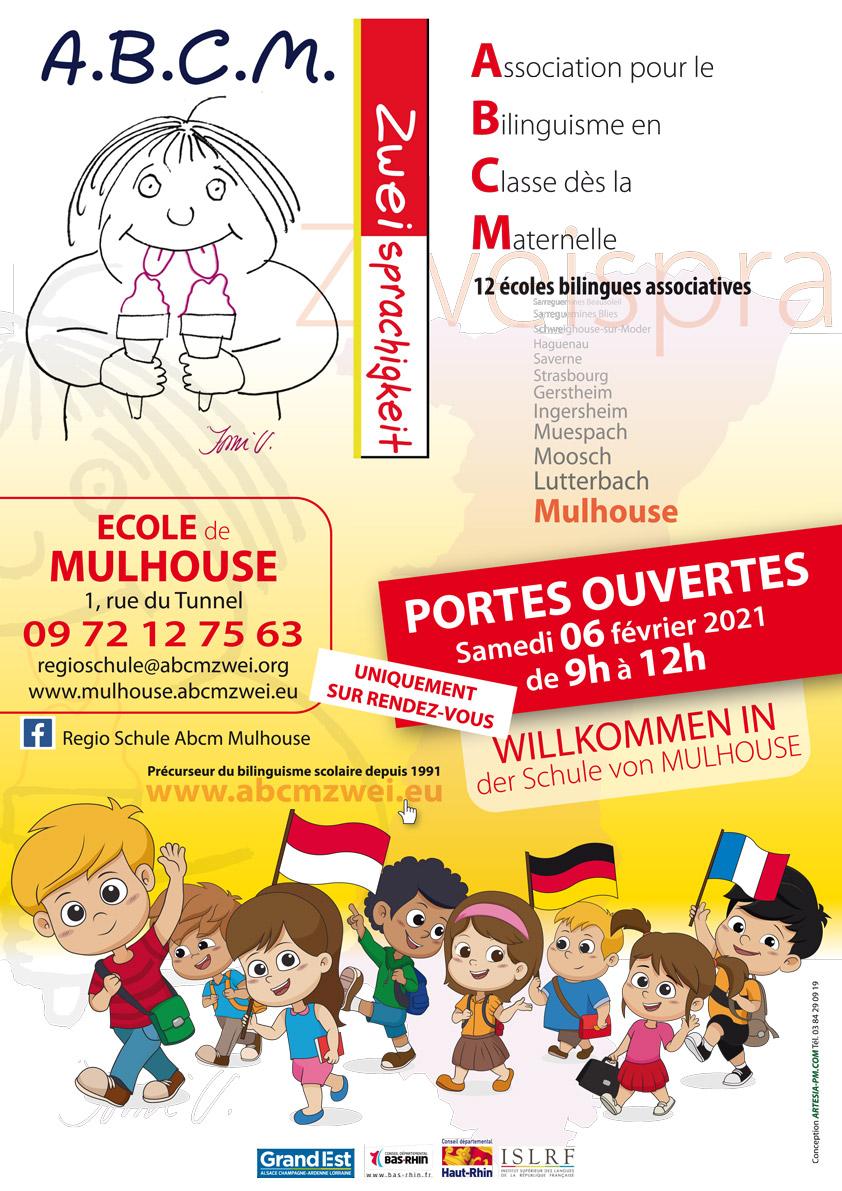 Portes ouvertes Ecole ABCM Lutterbach et Mulhouse